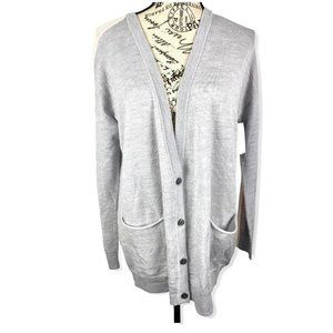 ATM multicolored wool button down cardigan